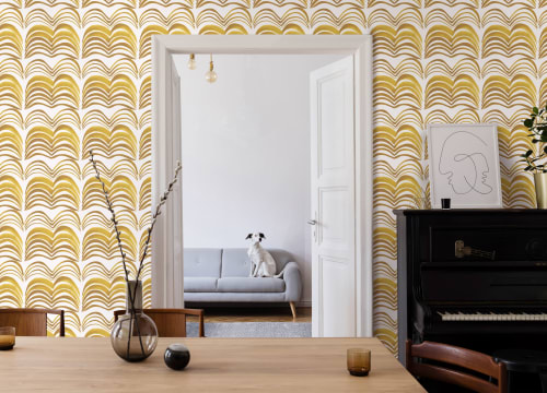 Wallpaper by Abnormals Anonymous seen at Private Residence, Bainbridge Island - Wavelength