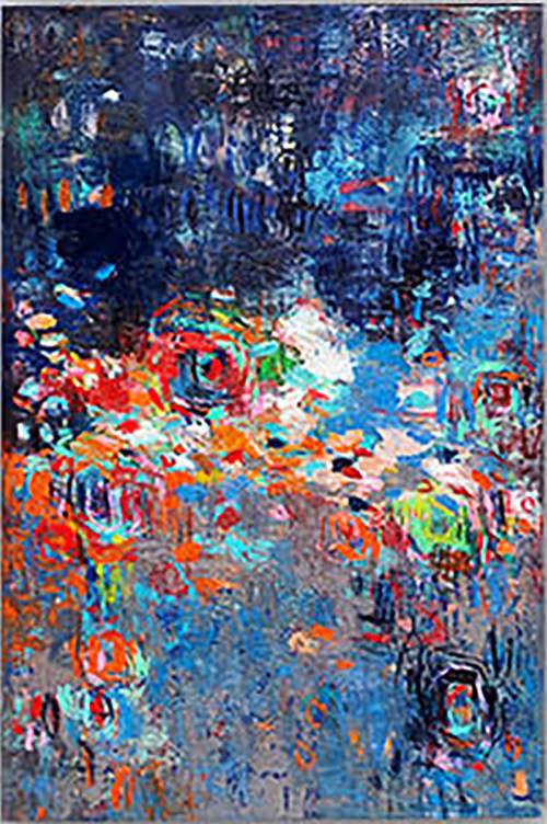 Paintings by Donaldson Fine Art seen at Loews Santa Monica Beach Hotel, Santa Monica - Oil Painting