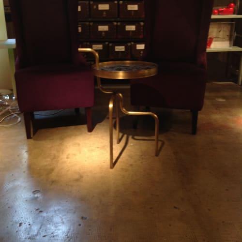 Tables by Roberto Giacomucci seen at Rossana Orlandi, Milano - Sea