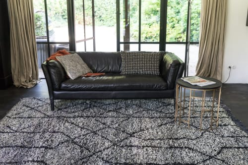 Rugs by M&Otto Design seen at Private Residence, Bentveld - Gharb Rug Alvar