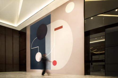 Murals by Sinta Tantra seen at Private Residence, Jakarta - Statera