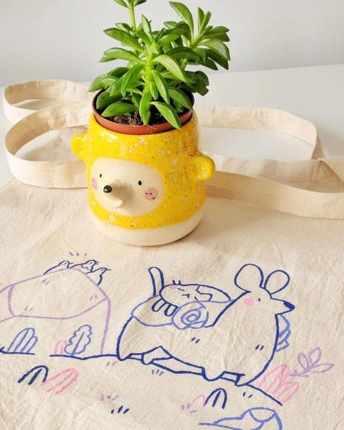 Vases & Vessels by Amii Handmade Ceramics seen at Private Residence, Barcelona - Flower Field Bear