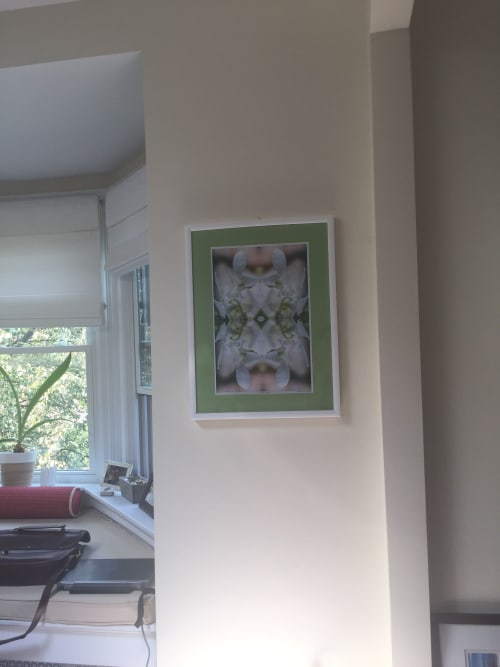 Photography by Kate Wilson Fine Art seen at Private Residence, Boston - Commission using Bridal Bouquet, photographic design