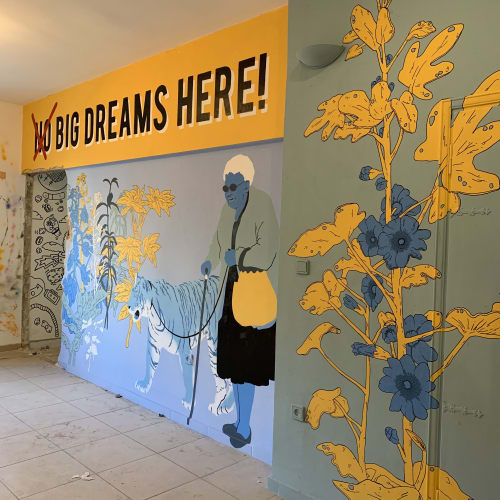 Murals by Always Never seen at Tel Aviv-Yafo, Tel Aviv-Yafo - Pop up museum