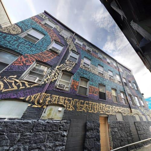 ESOTERiC Calligraffiti - Street Murals and Murals