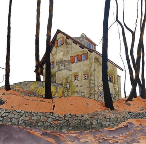 Paintings by Kate Van Harreveld seen at Private Residence, Haarlem - Moritz