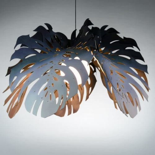 Pendants by Clarisse Design seen at V&A Waterfront, Cape Town - DELICIOUS LIGHT