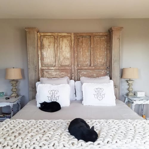Linens & Bedding by Broadwick Fibers at Private Residence, Lebanon - Handcrafted Blanket