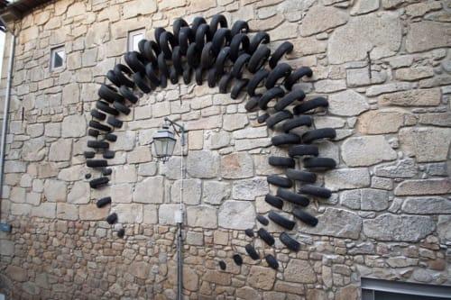 Public Art by Octavi Serra seen at Vila Nova de Gaia, Vila Nova de Gaia - Halo Art Installation