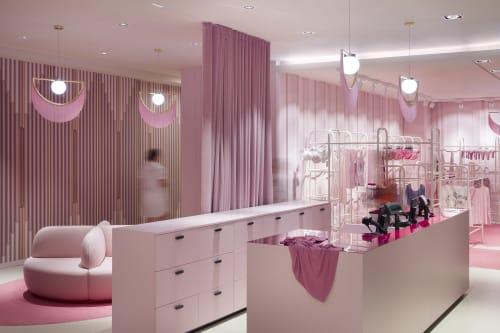Interior Design by AKSL arhitekti seen at Nama, Ljubljana - Nama lingerie department