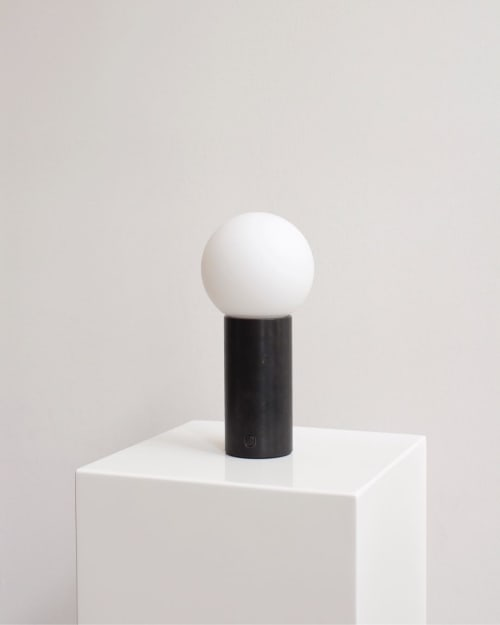 Lamps by In Common With seen at In Common With Studio, New York - Orb Table Lamp