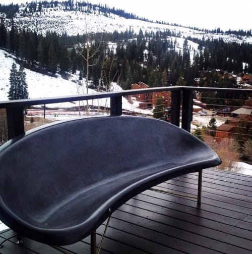 Couches & Sofas by Galanter & Jones seen at Private Residence, Truckee - Helios Lounge