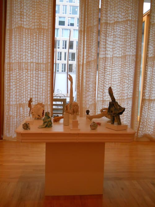 Sculptures by Cynthia Lahti Fine Art at Private Residence, Portland - Vault Alarm