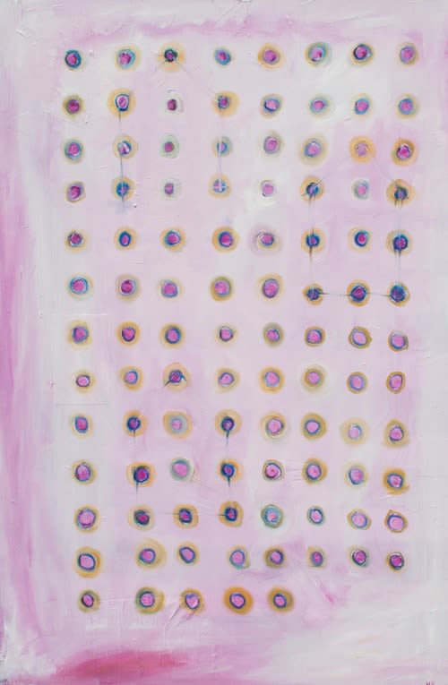 Paintings by Heather Kirtland seen at west elm, Baltimore - Knickers In A Twist