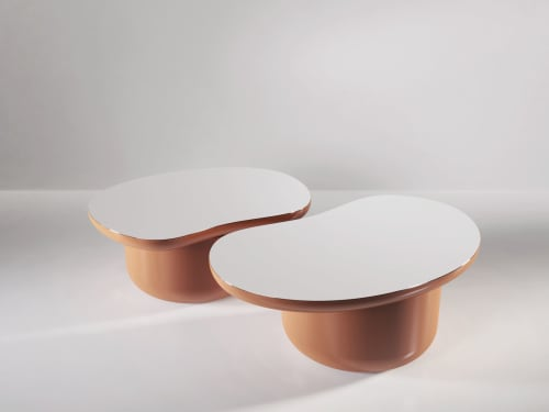 Tables by SECOLO seen at Creator's Studio, Milan - Laghi Medium Coffee Table