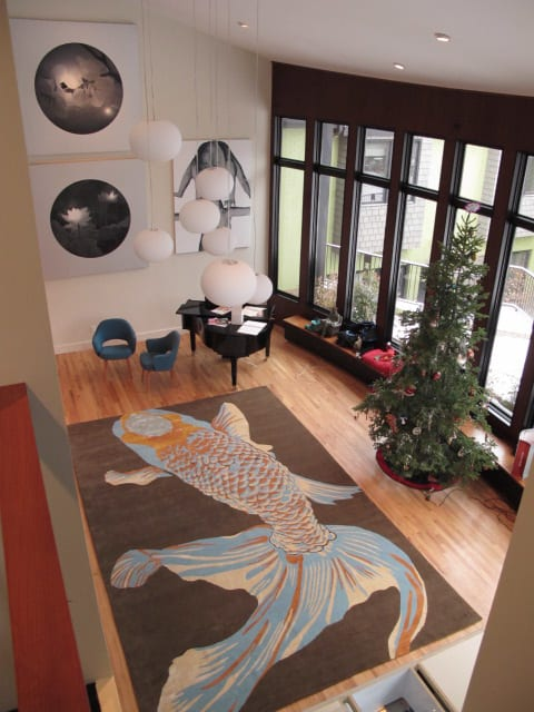 Rugs by Emma Gardner Design, LLC seen at Private Residence, Denver, CO, Denver - Whole Baby Fish