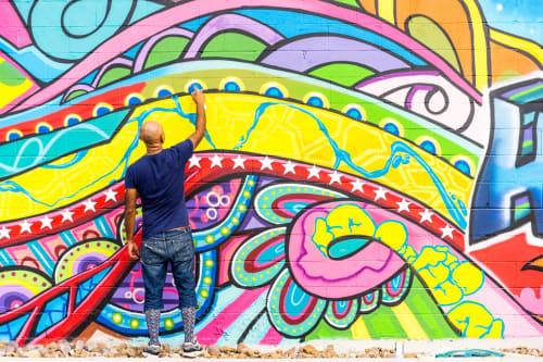 Mario E. Figueroa, Jr. (GONZO247) - Murals and Street Murals