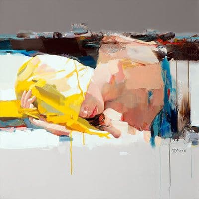 "Art & Wall Decor by YJ Contemporary seen at East Greenwich, East Greenwich - Josef Kote ""Don't Wake Me Up"""