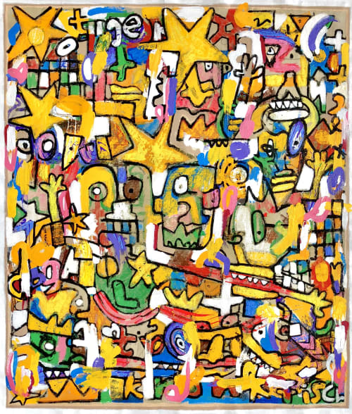 Jonas Fisch - Paintings and Art