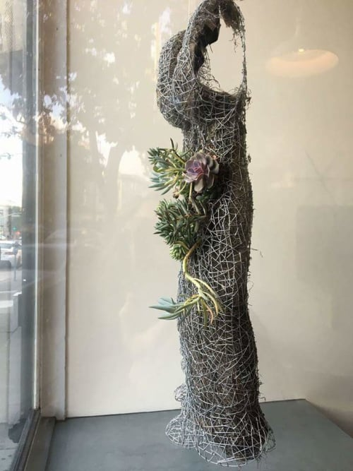 Sculptures by Kristine Mays seen at Love & Luxe, San Francisco - Succulence