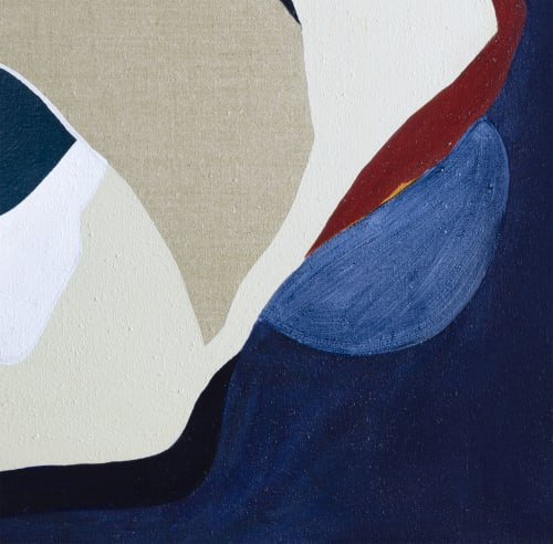 Paintings by Keren Toledano Abstract Art seen at The Dime Residences, Brooklyn - ANDROMEDA