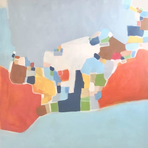 'MY DAYDREAM' | Paintings by Linnea Heide contemporary fine art