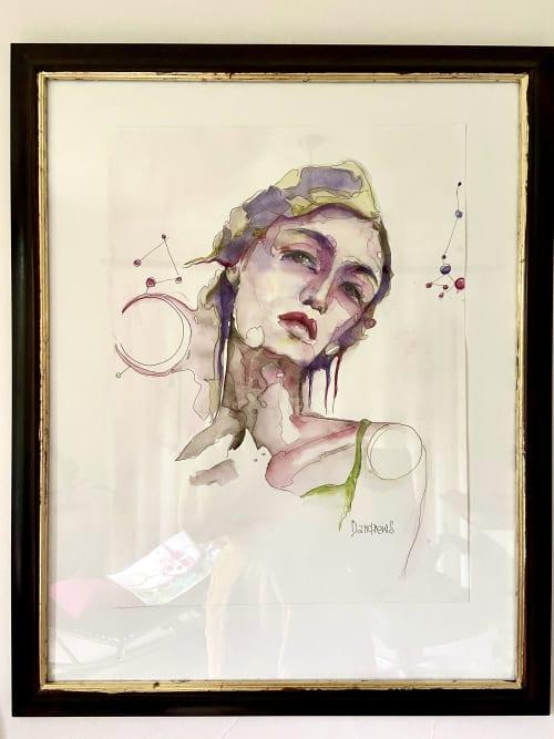 Micro Universes | Paintings by Daria Andrews