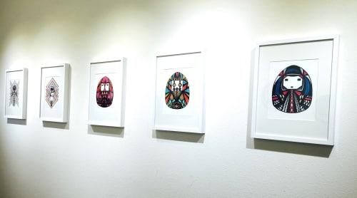 Amanda Ichihashi Jagerman - Paintings and Art