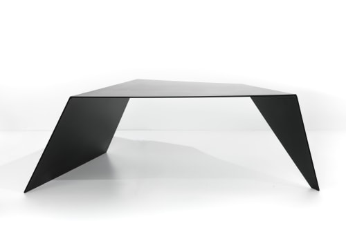 Tables by Creoworks seen at Creoworks, Seattle - Wedge Table