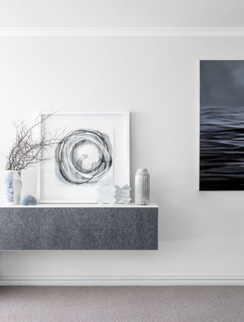 Paintings by Lara Scolari seen at Private Residence, Quay West, The Rocks - Painting