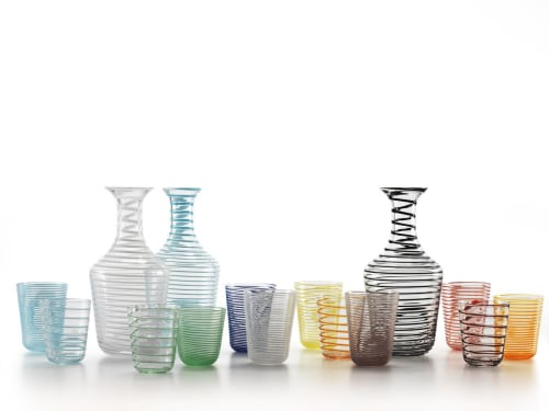 Tableware by NasonMoretti seen at Murano, Venice - Twist