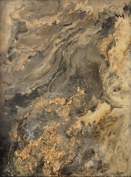 "Paintings by Paula Valenzuela Art seen at Private Residence, San Rafael - ""Aerial"""