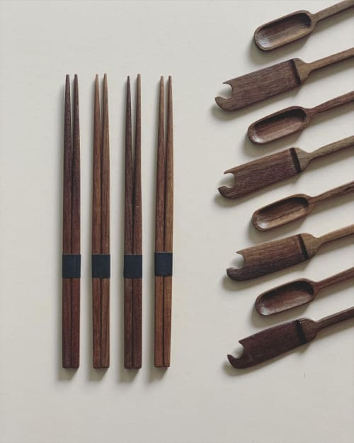 Utensils by TaoWood seen at Creator's Studio, Manchester - BUTTER KNIFE NO. 1