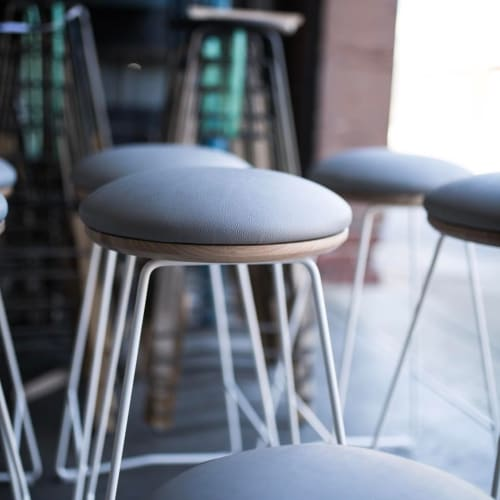 Chairs by Hunt Furniture seen at Jack Greens, Adelaide - HS450 Soft Top Stool