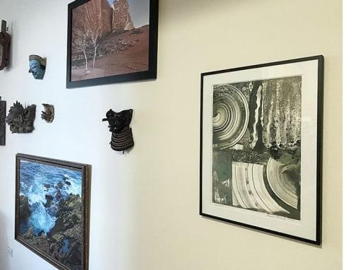 Paintings by Vesna Bricelj seen at Private Residence, New York - Rodaje