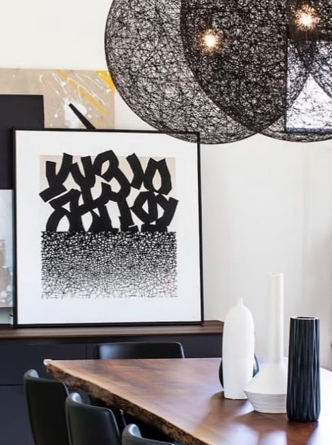 Art Curation by leelessemart seen at Private Residence, Toronto - Avenue Design Inc