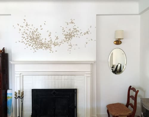Sculptures by Christina Watka seen at Private Residence, Manhattan, New York - Murmuration XX: John's Horse