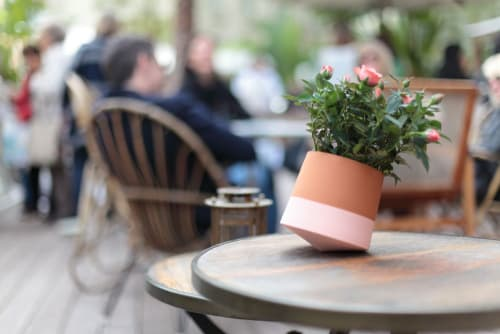 Vases & Vessels by Livingthings - Rolling flower pot - Voltasol Mini