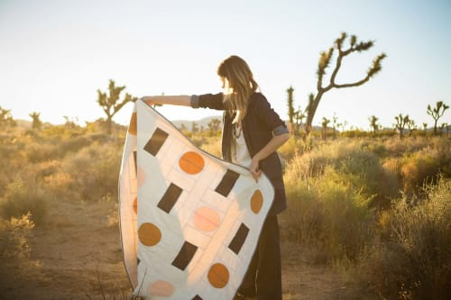 Linens & Bedding by Vacilando Quilting Co. seen at Joshua Tree National Park - Trans Pecos Quilt