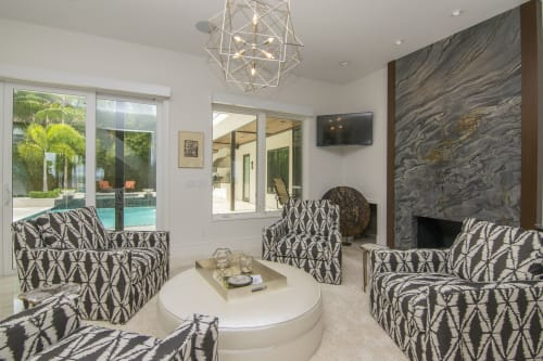 Bayshore home   Interior Design by Pamela Iannacio/ Addison and Company