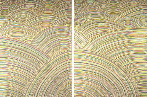 "Paintings by Scott Idleman seen at Private Residence, San Rafael - ""Terra Linda"""