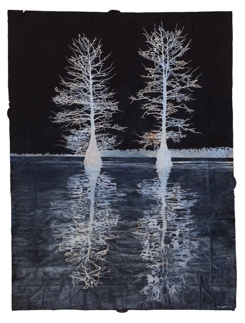 Paintings by Maysey Craddock Studio seen at Memphis, TN, Memphis - Ghosts On The Water