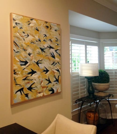 Paintings by Farida Hughes seen at Private Residence, Atlanta - Swallow