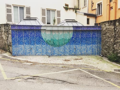 Street Murals by ink4rt seen at Grenoble, Grenoble - Street Art