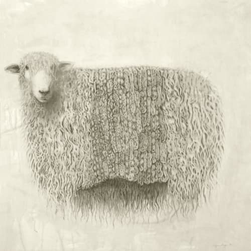 Paintings by Meagan Donegan at Private Residence, Seattle - Sheep 2