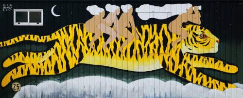Max Grünfeld - Street Murals and Paintings
