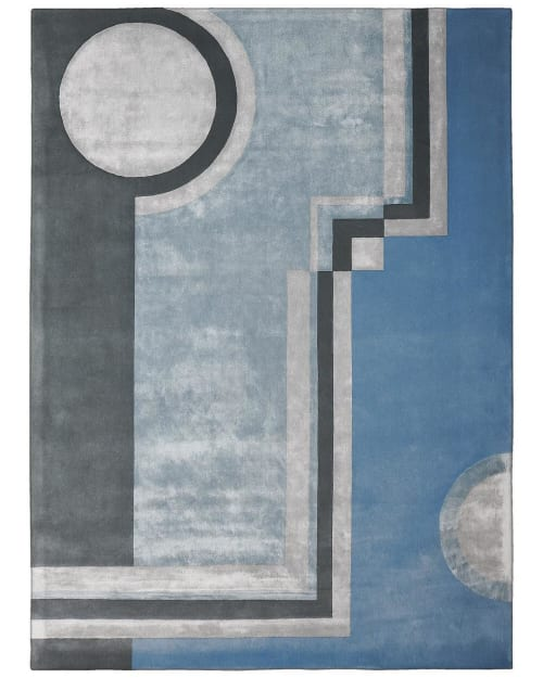 Rugs by Lucy Tupu Studio seen at Aaron Stewart Home and Stewart Rodriguez, San Juan - Stewart Rodriguez-Office