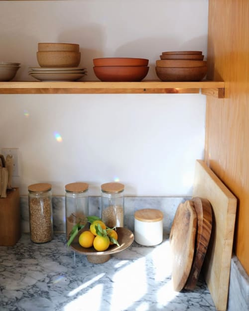 Tableware by Kate Kipley seen at Kristine Claghorn's Home, Los Angeles - Ceramic Bowls