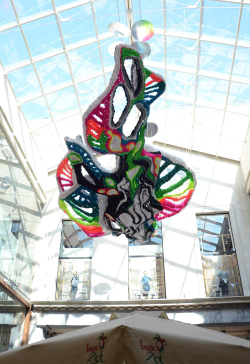 Art Curation by Crystal Wagner seen at Ostend, Ostend - Astral for Shoppingcenter Feest- en Kultuurpaleis