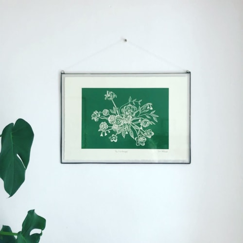 Wall Hangings by Sera Holland seen at Private Residence, Cape Town - Print